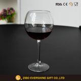 Glace de vin faite sur commande de cheminée en verre de vin d'usine