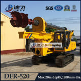 Dfr-520 Auger Drill Hydraulic Piling Machine