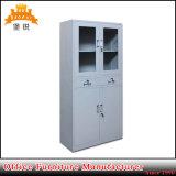 Governo utilizzato mobilia di vetro mezza del cassetto del truciolo di acciaio del metallo dell'ufficio della porta a battenti del pacchetto piano da vendere