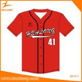Cheap Custom Team Broderie Logo Vente en gros Maillot de baseball Chemises Habillement Uniformes