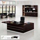 Fsc-Wald bestätigte Büro-Schreibtisch-Büro-vollziehendtisch neue des Form-Konstruktionsbüro-Möbel-modernen Direktoren-Melamine mit L Form-Rückkehr (H80-0161)