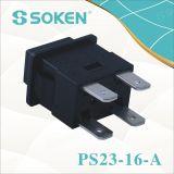 Sokenのソケットの拡張押しボタンスイッチ瞬時16A