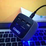 Hub USB met de Kaart van BR TF, Hub USB met leiden