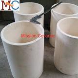 OIN appuyant le creuset en céramique d'alumine