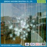 A strati vetro laminato di 6.38mm con la pellicola libera di PVB