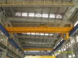 pont roulant de poutre de double de grue de passerelle de bride de fixation de QD 16/3.2ton avec les machines de levage d'élévateur électrique pour l'atelier