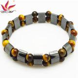 Bracelet en hématite magnétique de mode