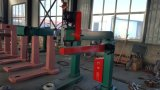 기계를 만드는 물결 모양 판지 상자의 1400의 페달 Stitcher