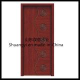 Puerta de madera compuesta de PVC/MDF