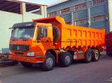 Tipo di azionamento di Sinotruk 8X4 autocarro con cassone ribaltabile