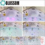 Banheira da massagem da cuba do Whirlpool do Jacuzzi dos TERMAS da flor hidro (BLS-8328)