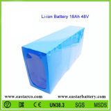 Pacchetto personalizzato della batteria della batteria di litio 48V 18ah per i veicoli elettrici