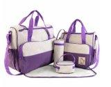 防水赤ん坊のおむつ袋が付いている多機能のミイラ袋