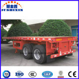 acoplado del carro del contenedor para mercancías del árbol del utilitario 2/3 de los 40FT semi