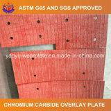 Биметаллическая плита износа верхнего слоя карбида хромия
