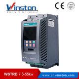 Dispositivo d'avviamento molle cinese 37kw della pompa ad acqua della visualizzazione dell'affissione a cristalli liquidi di inglese di Winston