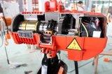AC Synchrone Motor Hijstoestel van de Keten van 1.5 Ton het Elektrische met Karretje