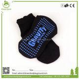 Nicht Beleg-Innenvergnügungspark-Griff-Socken mit Firmenzeichen