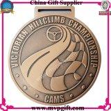 le logo 3D la médaille de placage à l'or de moulage mécanique sous pression