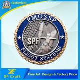 工場価格は記念品のための亜鉛合金3Dのクラフトの骨董品の金の挑戦硬貨をカスタマイズした