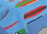 De afgedrukte 100% Reeks van het Katoenen Dekbed van Childred van de Polyester of (GEPLAATST BEDDEGOED)
