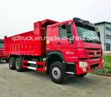 6X4 de Vrachtwagen van de Stortplaats van de Dieselmotor Zz3257 van LHD