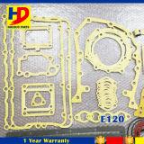 Jogo da gaxeta da revisão E120 para as peças de motor Diesel de Isuzu no estoque