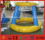 Миниый голубой раздувной обруч баскетбола для снимать малышей