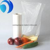 Держите свежий ясный пластичный мешок упаковки еды