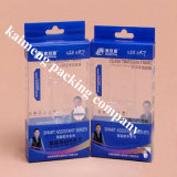 China Fancy Design Clear PVC Plastic Underwear Package Box com impressão de logotipo