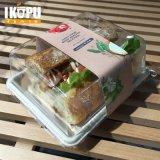100% 생물 분해성 사탕수수 사탕수수 찌지 간이 식품 집에 사가지고 가는 요리 상자