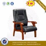 CEOのオフィス用家具の上牛革会議の木の椅子(NsCF008)