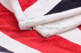 Polyester gedruckte Sherpa Vlies-Zudecke - die Verbindungsstück-Markierungsfahne