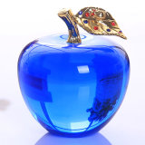 Heißer Verkaufs-Kristallapple-Fertigkeit für Hauptdekoration