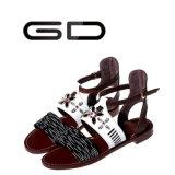 Gdshoe lederne flache Schuhe