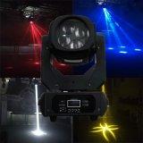 디스코 나이트 클럽 DJ 바를 위한 4*25W LED 광속 이동하는 헤드