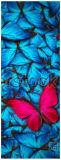 Циновка йоги Rubebr циновки йоги печатание бабочки естественная