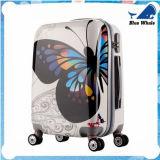 Sacchetti del carrello della stampa dei bagagli del PC dell'ABS con i bagagli del reticolo di farfalla