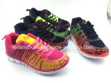 Le sport occasionnel d'enfants chausse les chaussures de course d'espadrilles (FFZJ112601)