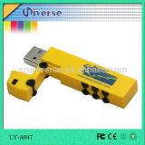 2D 3D подгоняют привод 2.0 пер USB диска формы u тележки PVC привода вспышки USB внезапный привод 2GB 4GB 8GB 16GB 32GB 64GB 3.0 больших пальцев руки