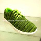 Новые ботинки ботинок холстины впрыски прибытия вскользь (FFZL1031-04)