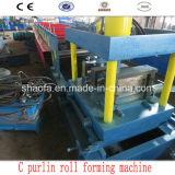 Rolo de Aço da Canaleta da Construção de Edifício C Que Dá Forma à Máquina