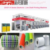 La serie 4 de Qhsy-a colorea la línea electrónica impresora de la anchura de 600m m del fotograbado de la película plástica del eje