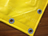 Tela incatramata ad alta resistenza del PVC per la costruzione della membrana