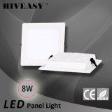 acrylique carré LGP des éclairages LED SMD de Downlight de voyant de 8W DEL avec le grand panneau d'éclairage LED de radiateur