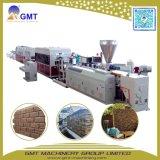 Chaîne de production décorative de panneau de voie de garage de mur de configuration de pierre de vinyle de PVC