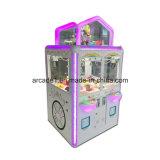 실내에 인형 소형 장난감 클로 기계 자동 판매기를 농담을 한다