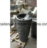 Естественная мраморный каменная раковина постамента
