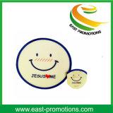 Het Af:drukken Vouwbare Frisbee van het Embleem van de douane voor het Stuk speelgoed van het Huisdier