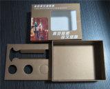 Contenitore di regalo della scheda per l'imballaggio stabilito degli accessori del tappo del vino